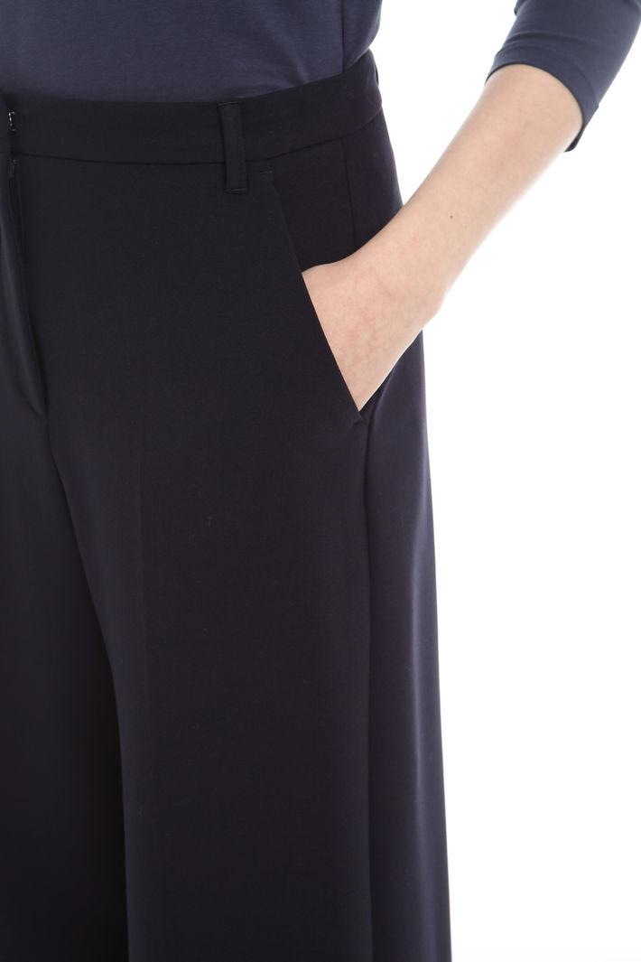 Pantalone cropped con piega Fashion Market