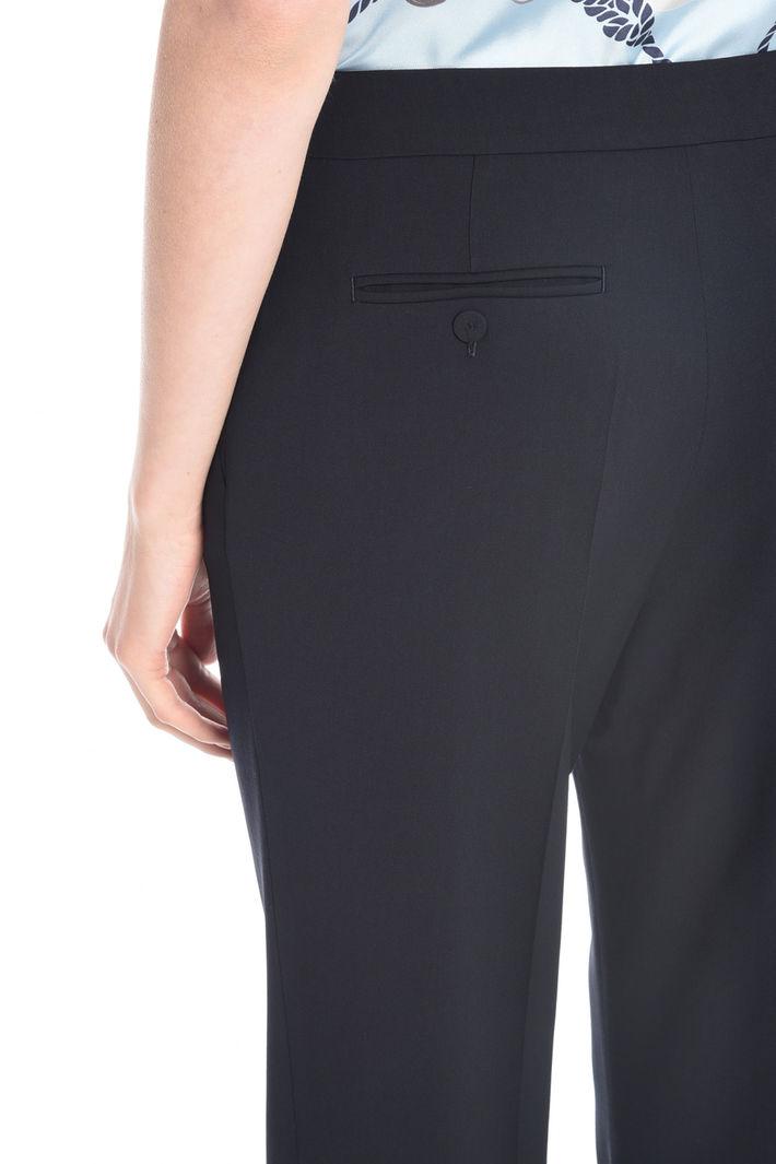 Pantalone in twill di lana Fashion Market