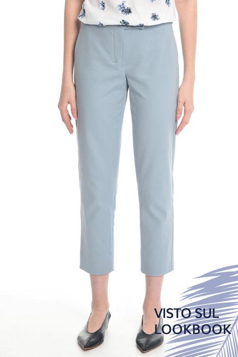Pantalone in cotone stretch Diffusione Tessile