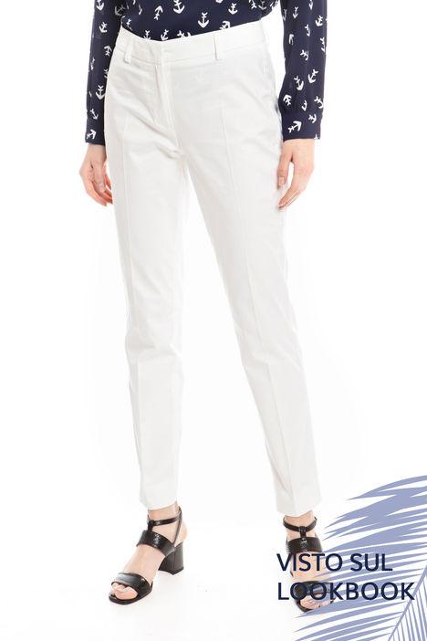 Pantaloni in cotone Diffusione Tessile