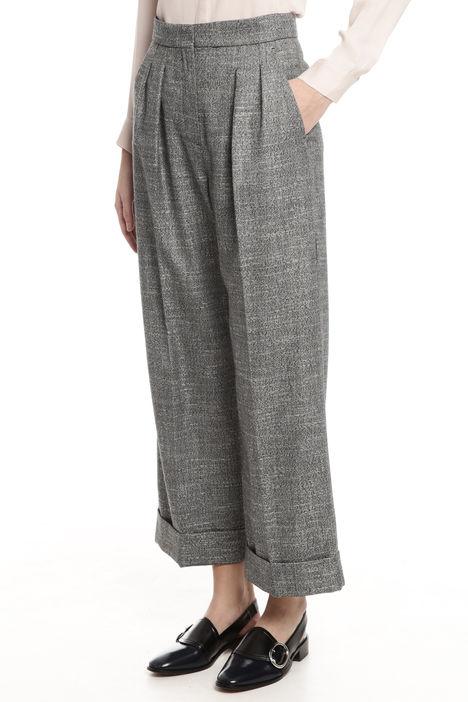 Pantaloni larghi tinto filo Intrend
