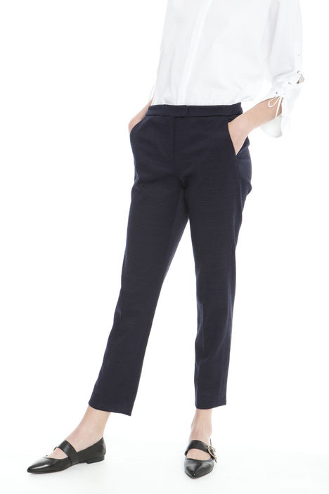 Pantalone lungo jacquard Intrend