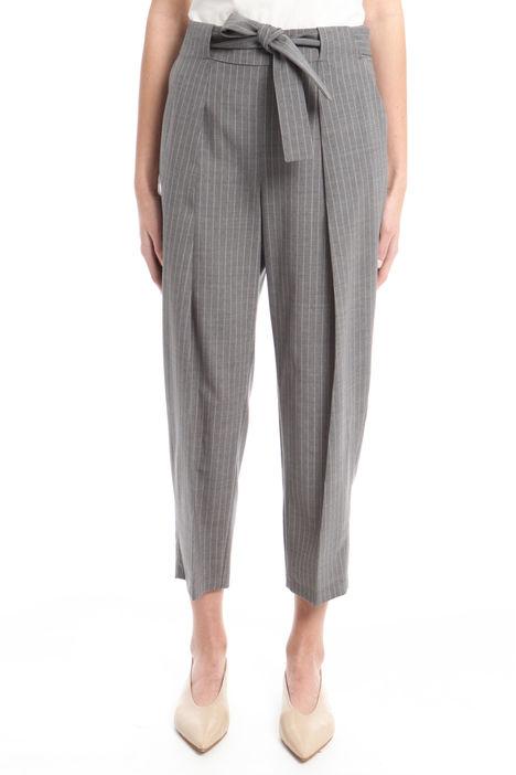 Pantalone gessato Diffusione Tessile