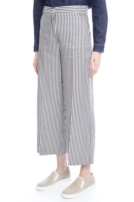 Pantalone in cotone compatto Diffusione Tessile