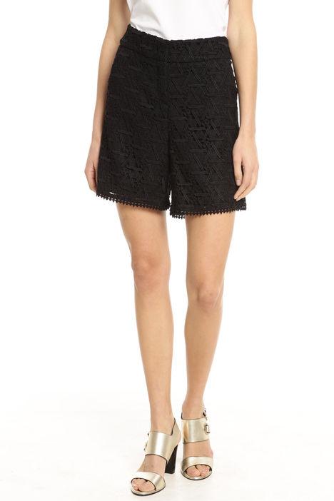 Shorts in tessuto macramè Intrend