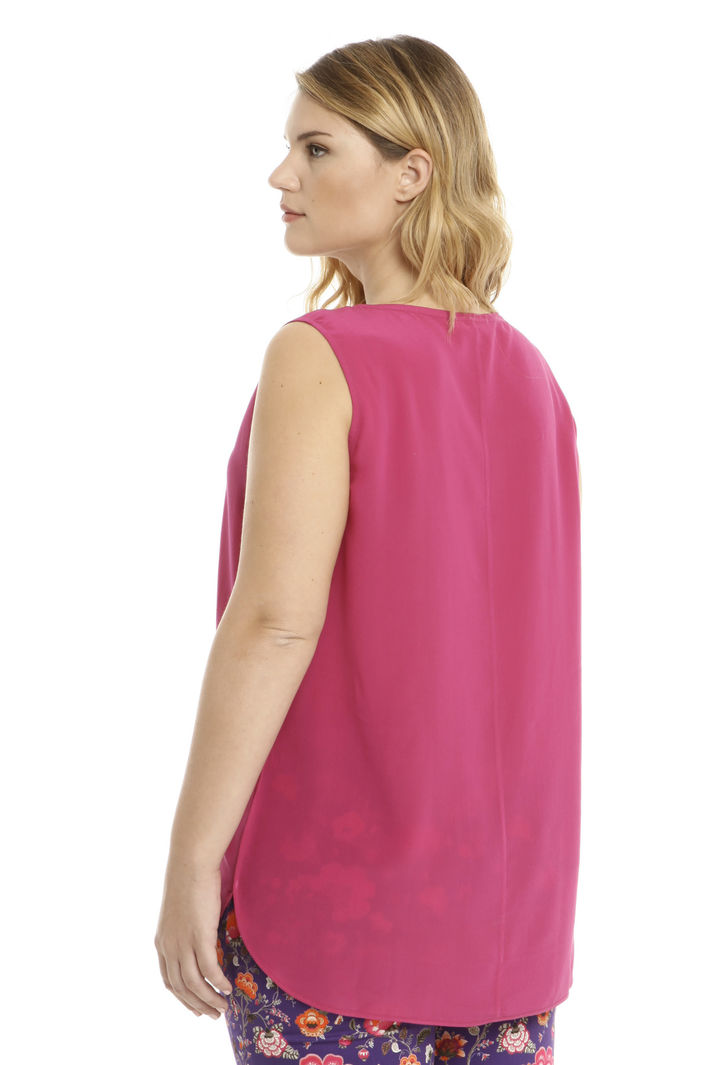 Top in crepe de chine di seta Intrend