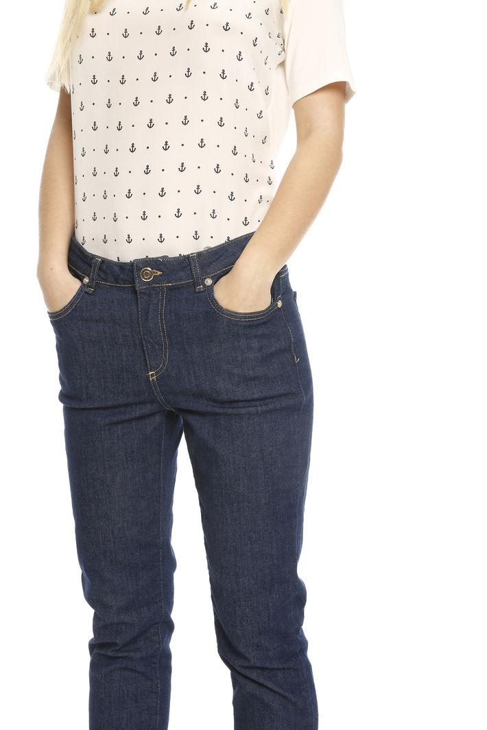 Jeans linea dritta cropped Fashion Market