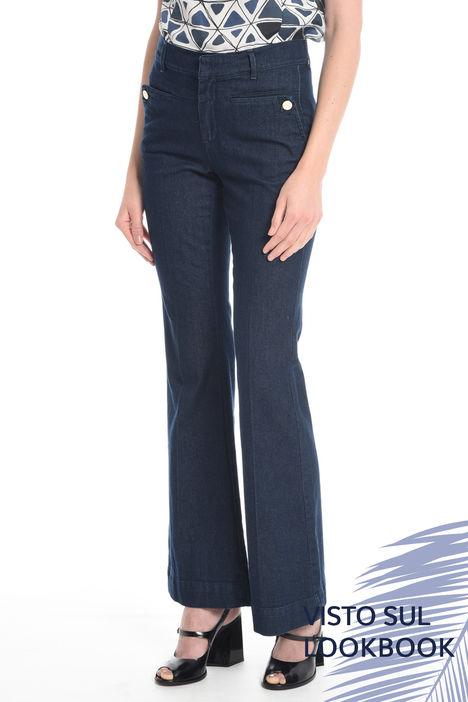 Jeans a zampa Intrend