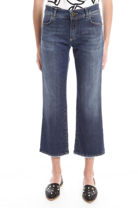 Jeans cropped cinque tasche Diffusione Tessile