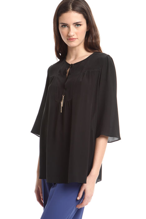 Blusa in seta Intrend