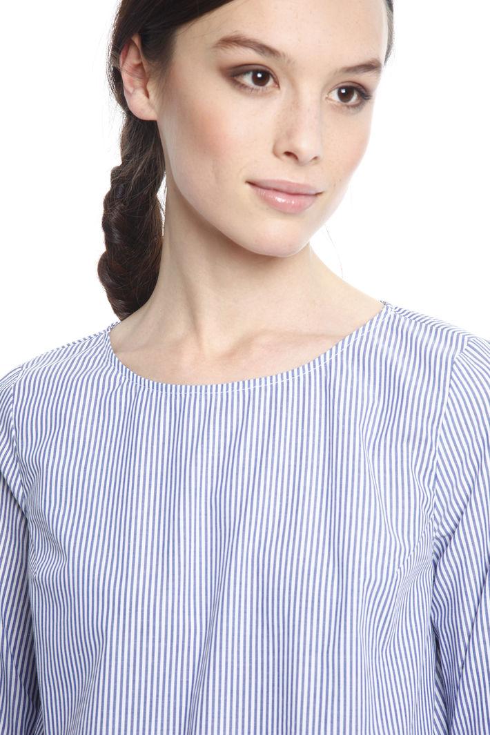 Blusa in popeline di cotone Diffusione Tessile