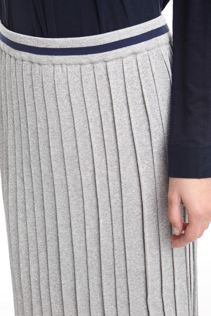 Gonna midi in maglia lurex Fashion Market