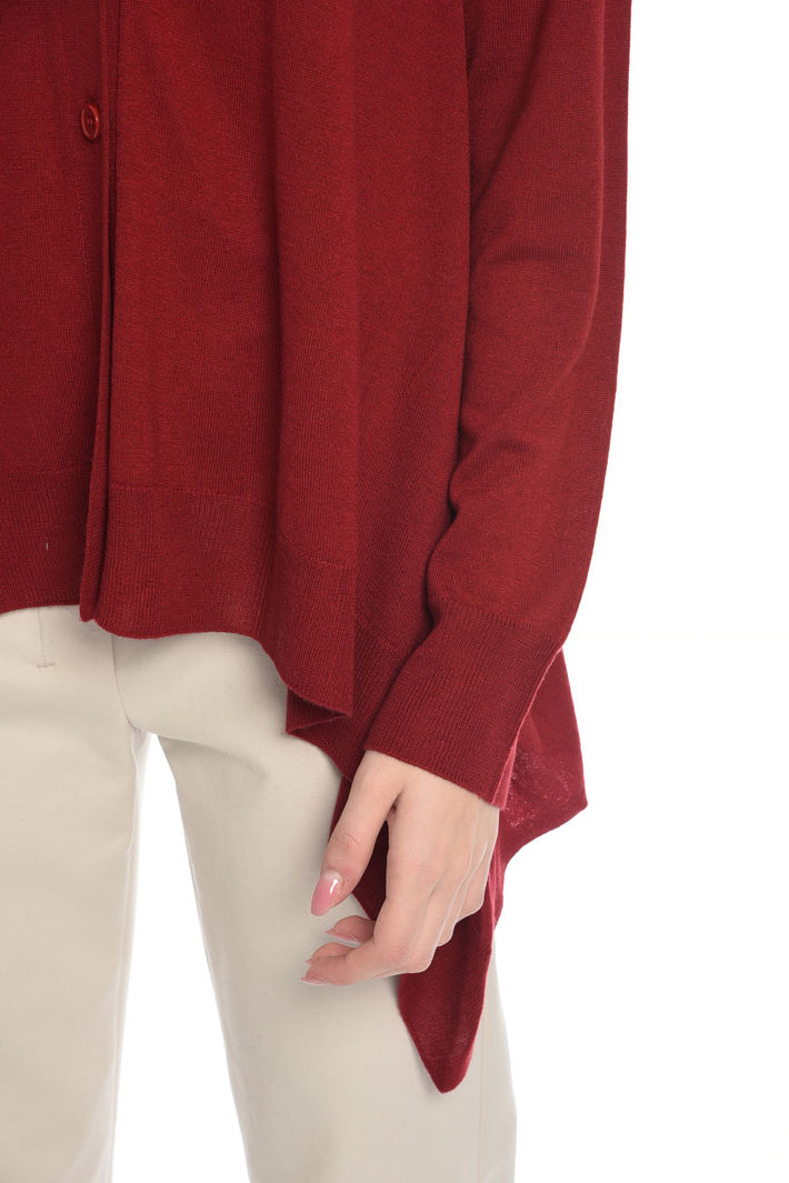 Cardigan con fondo asimmetrico Fashion Market