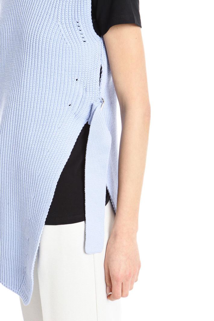Gilet lungo in maglia Fashion Market