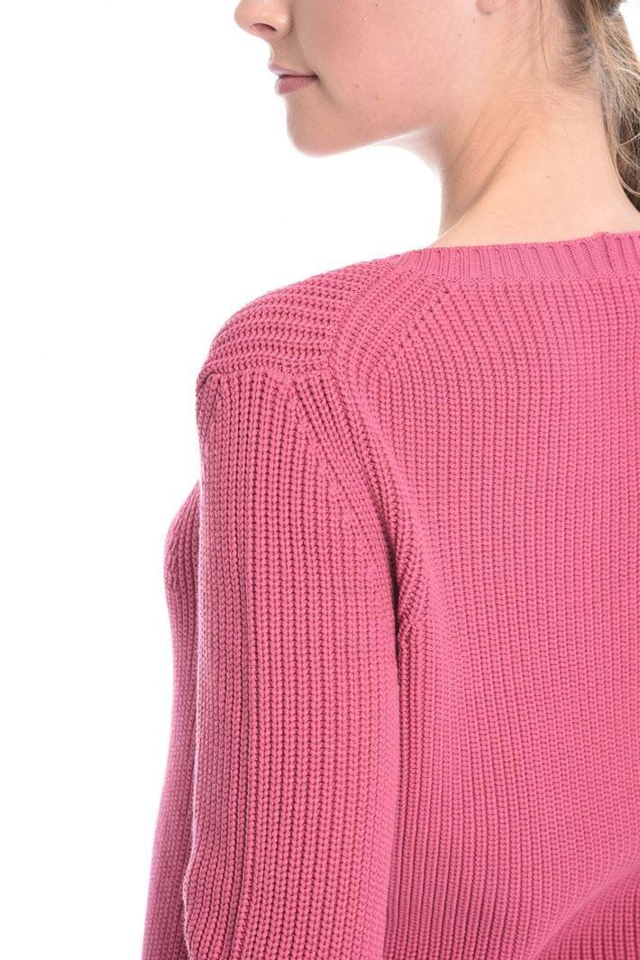 Maglia con scollo ricamato Fashion Market