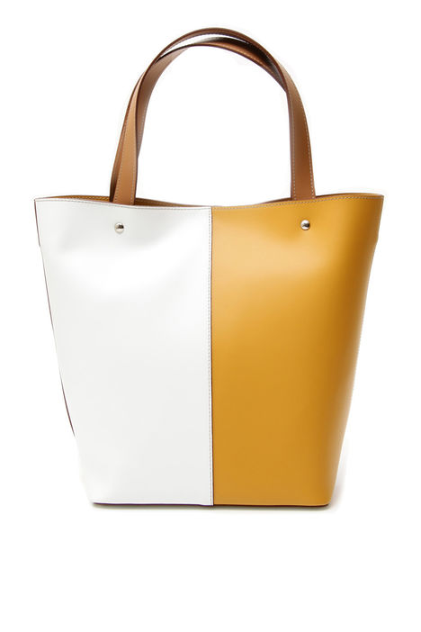 Borsa color block in pelle Intrend