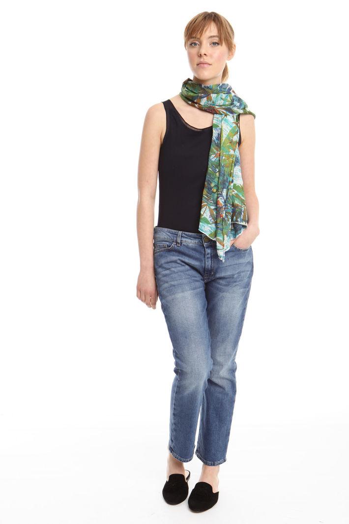 Sciarpa fluida a fantasia Fashion Market