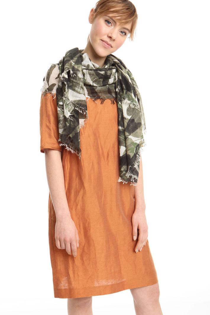 Sciarpa in viscosa stampata Fashion Market
