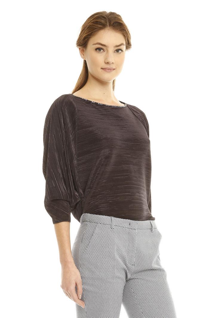 Coprispalle in jersey plissè Fashion Market