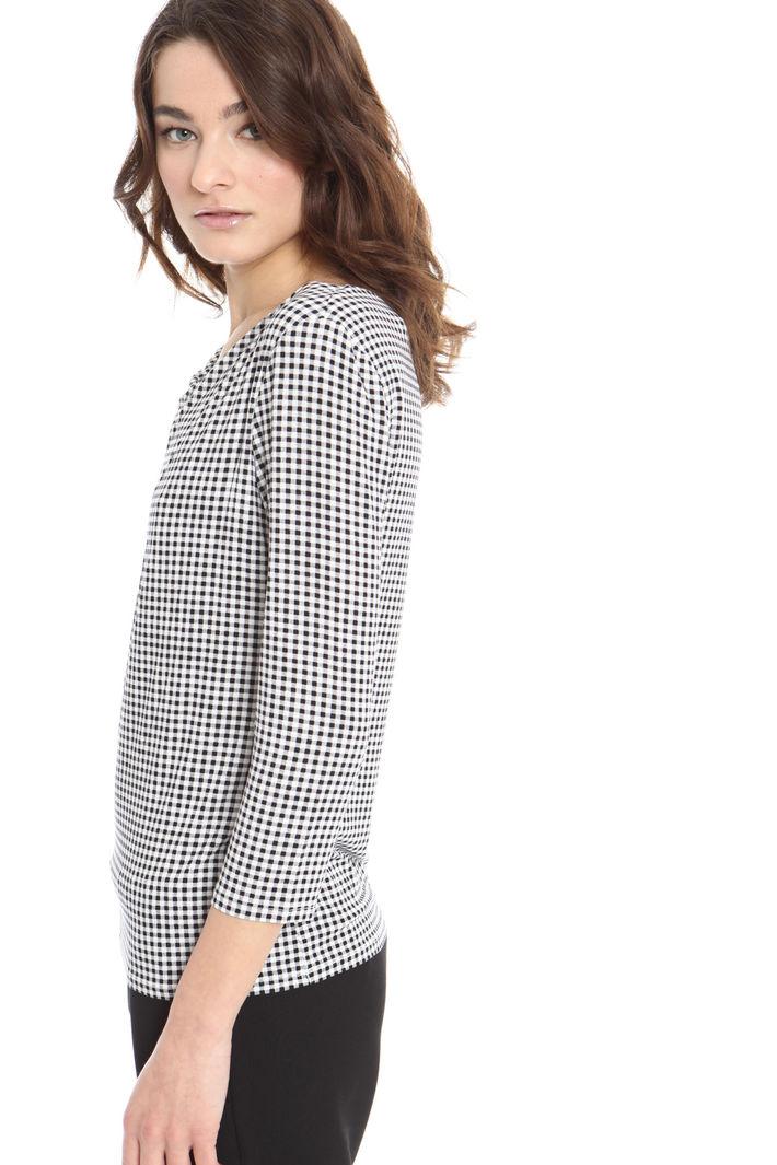 Top con collo drappeggiato Fashion Market