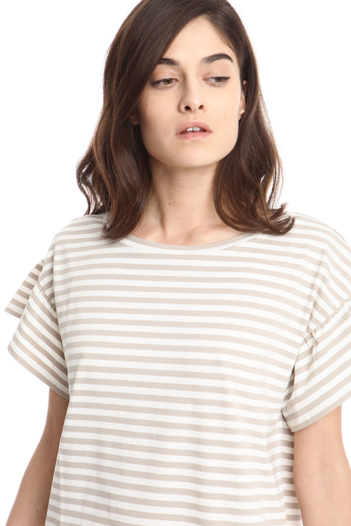 T-shirt boxy in cotone Intrend