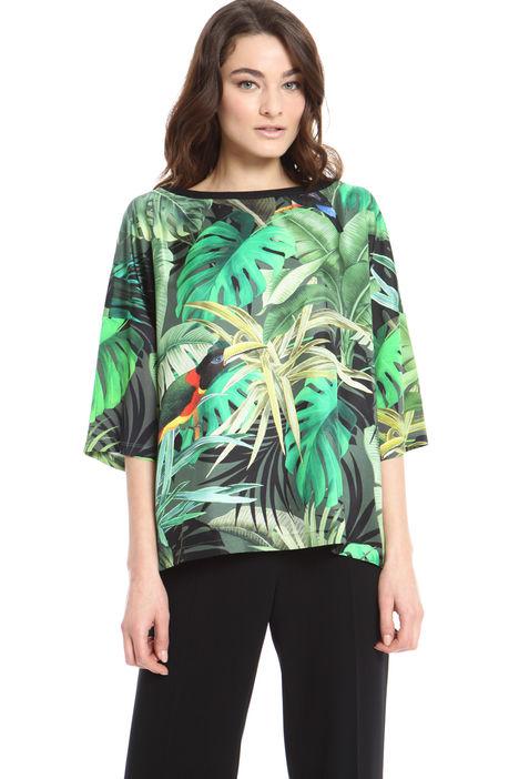 Tshirt stampa giungla Diffusione Tessile