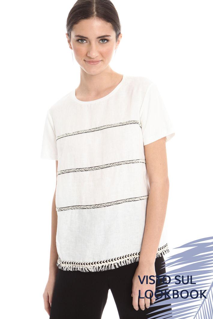 T-shirt ricamata Diffusione Tessile