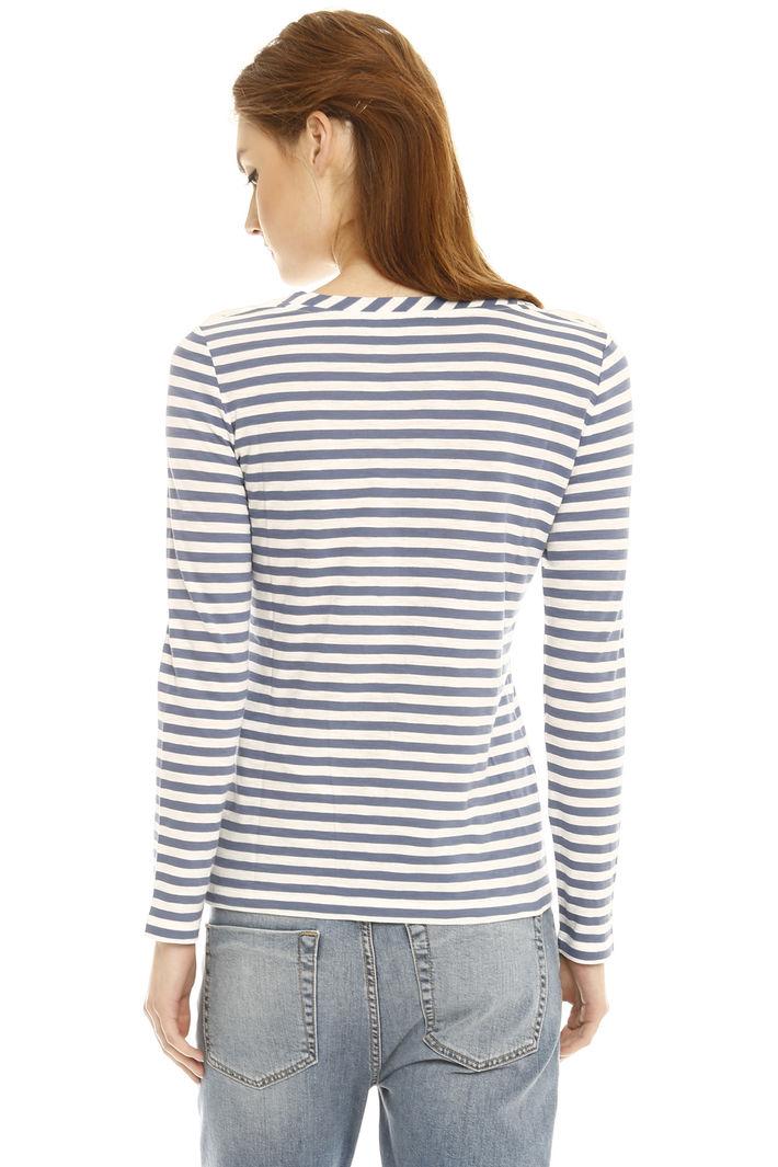 T-shirt con bottoncini Fashion Market