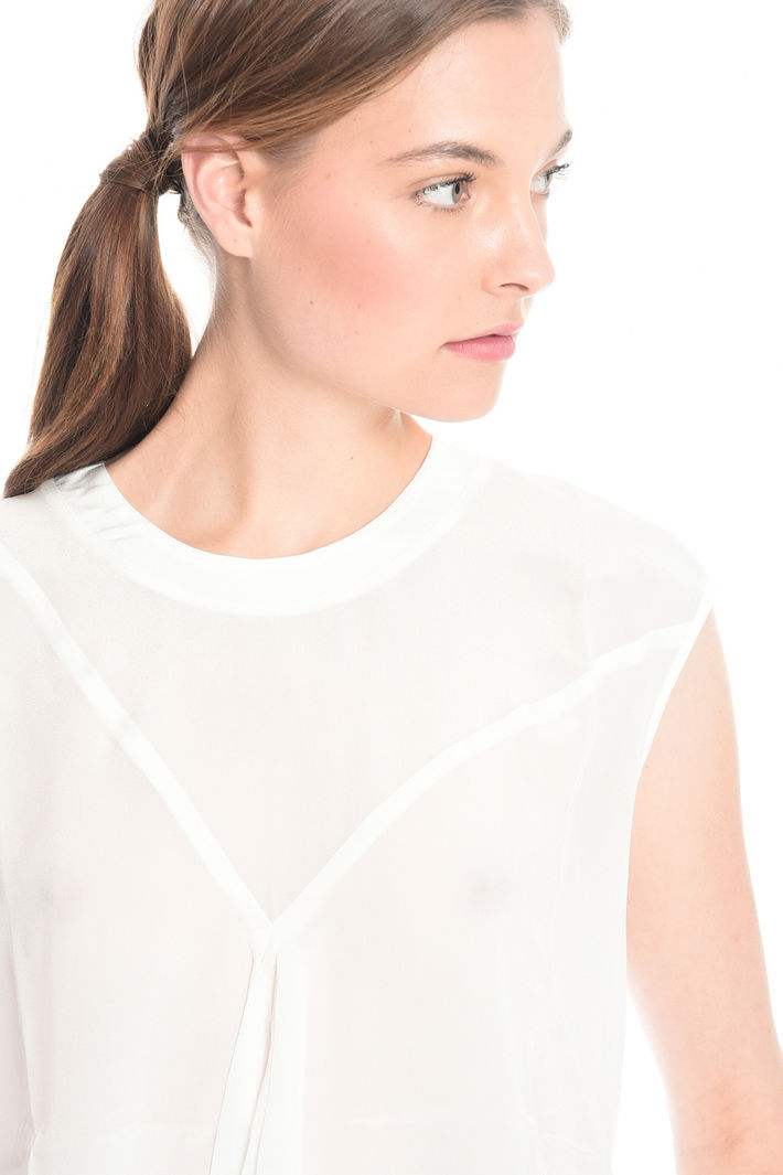 T-shirt bimateriale Diffusione Tessile