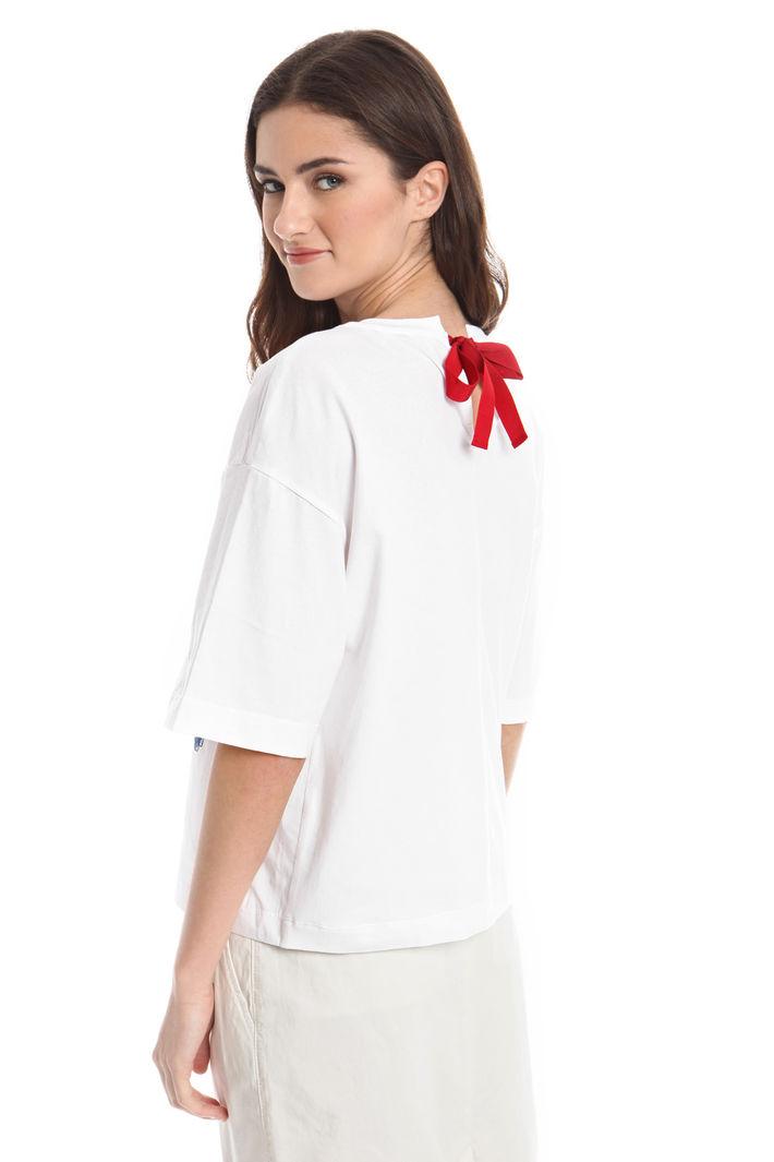 T-shirt con ricami e applicazioni Fashion Market