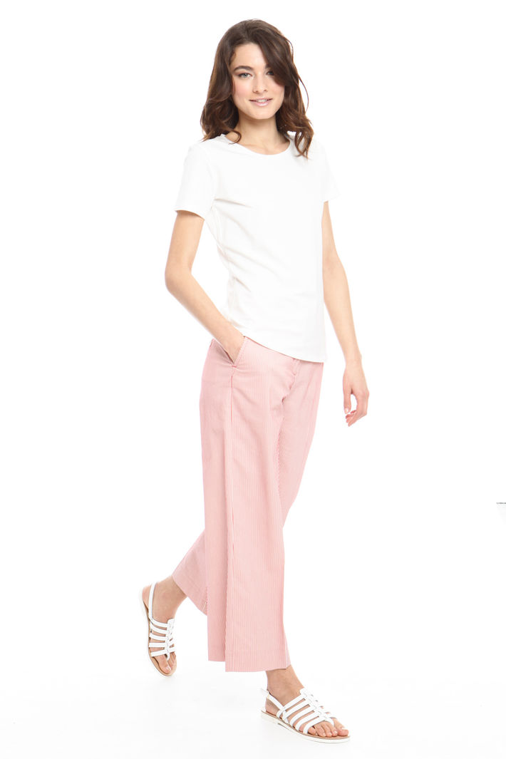 T-shirt basic in cotone Intrend