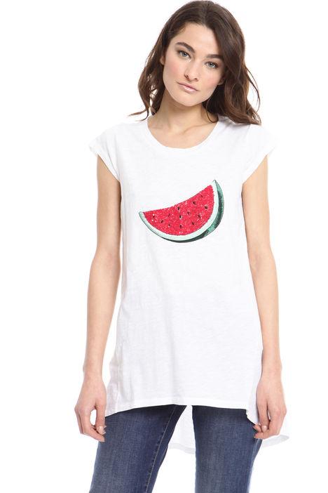 T-shirt ricamata Intrend