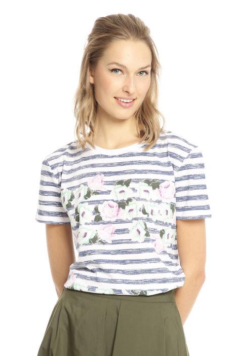 T-shirt in cotone stampato Diffusione Tessile