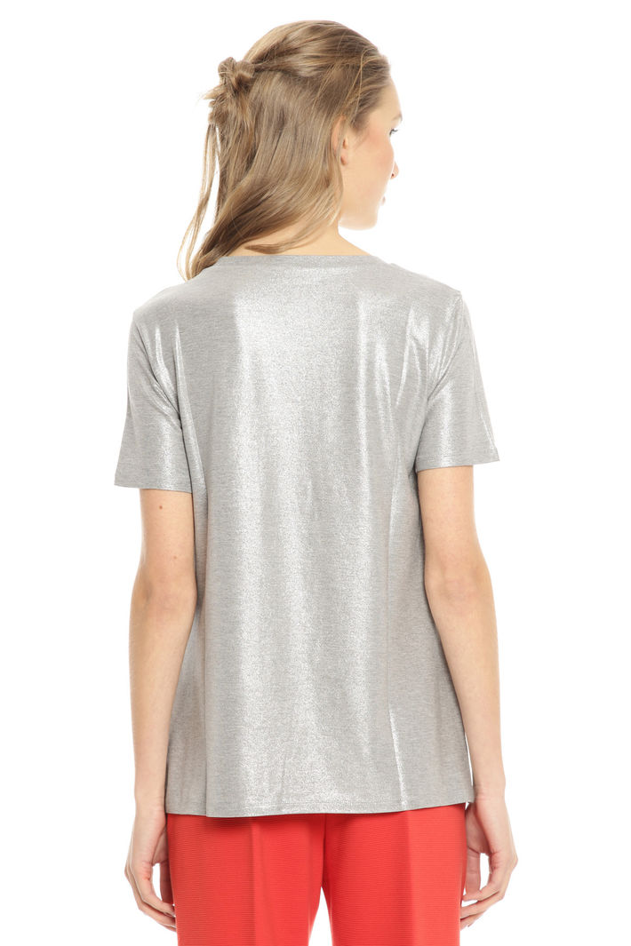 ... T-shirt in jersey glitter Diffusione Tessile ...