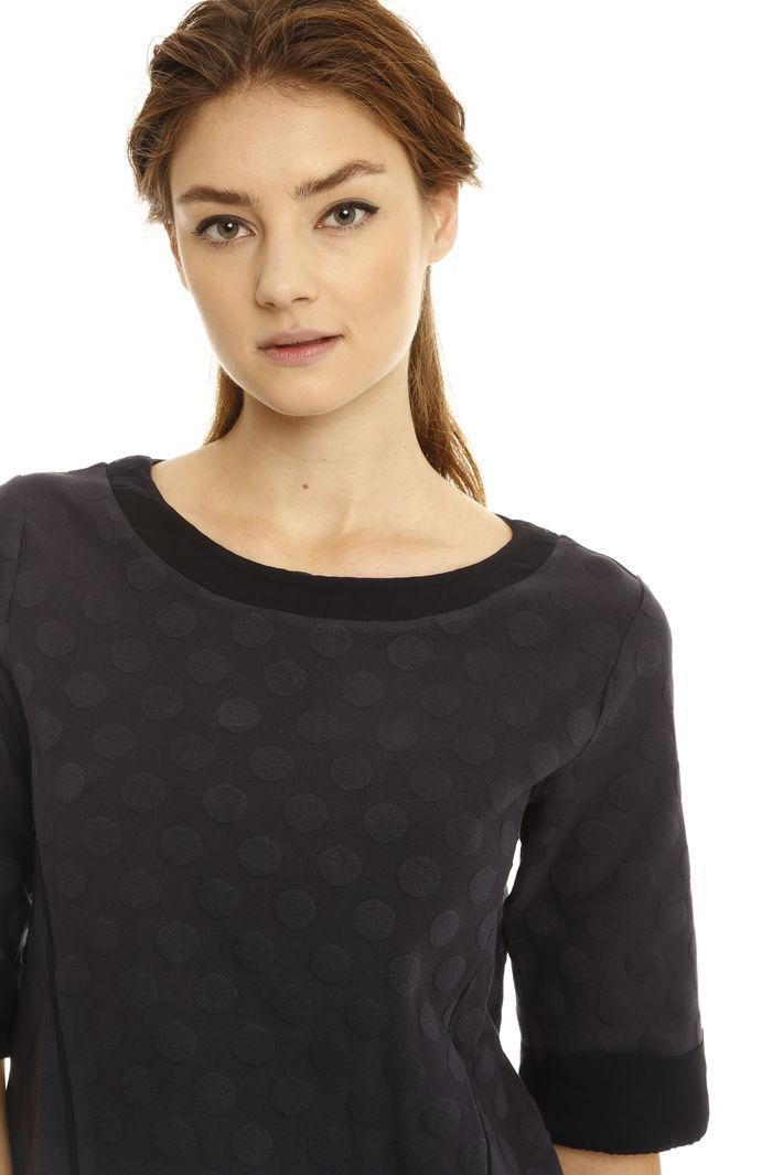 T-shirt matelassé a pois Fashion Market