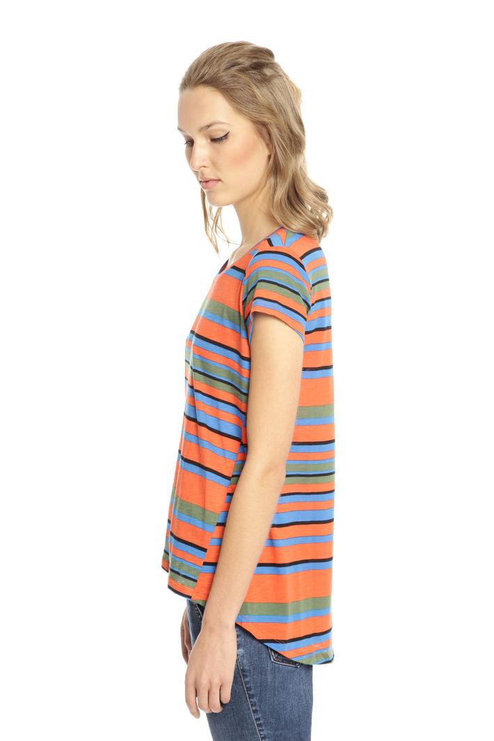 T-shirt svasata in cotone Fashion Market