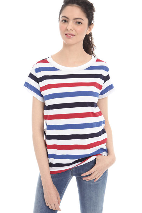 T-shirt con decoro Intrend