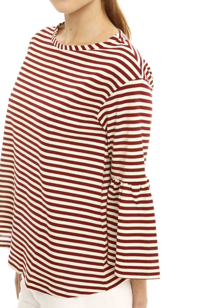... T-shirt in righe lurex Diffusione Tessile