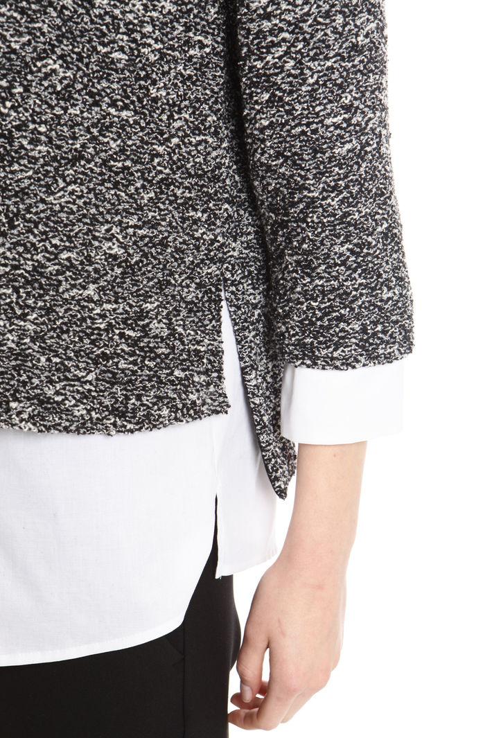 Maglia con fondo in popeline Fashion Market