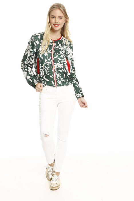 Giacca bomber in twill Intrend