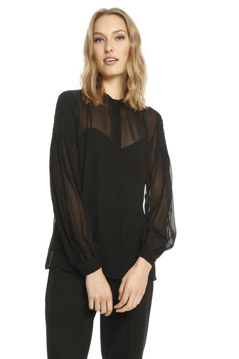 Camicia in georgette con top Diffusione Tessile