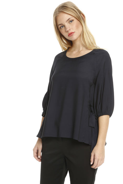 Blusa in seta e viscosa Intrend