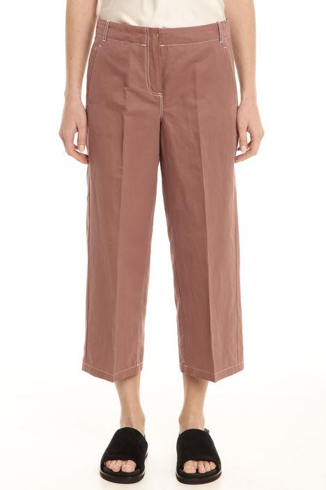 Pantaloni larghi in cotone Diffusione Tessile