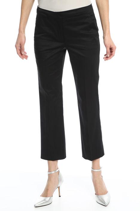 Pantaloni cropped in raso Intrend