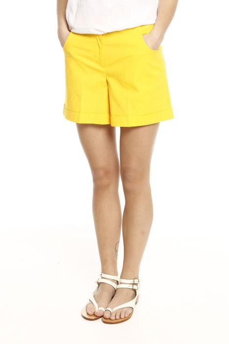 Shorts in raso di cotone Intrend