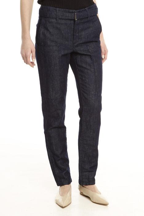 Pantaloni denim con cintura Diffusione Tessile