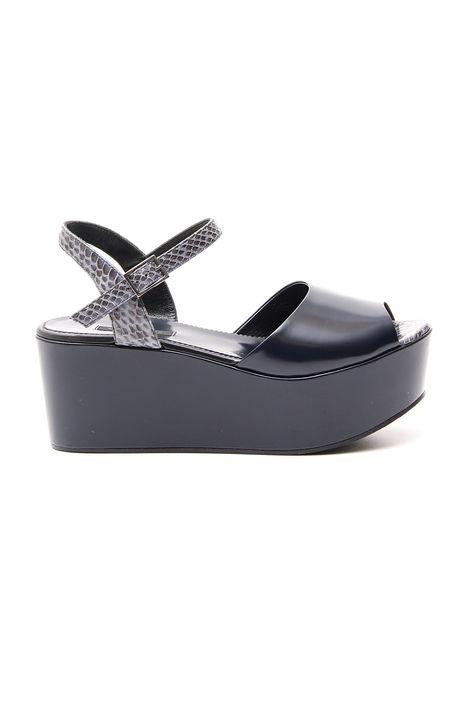Sandalo platform in rettile Intrend