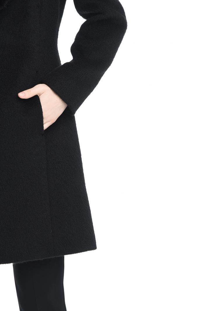Cappotto con collo removibile Diffusione Tessile
