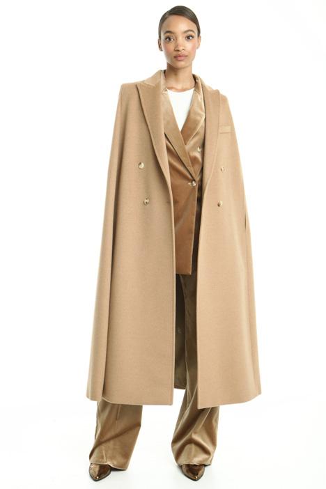 Wool drap cape Diffusione Tessile