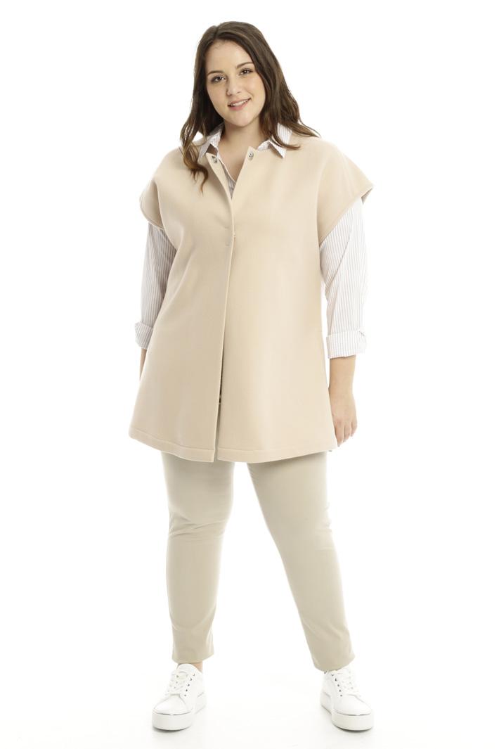 Giacca in velour di lana Diffusione Tessile